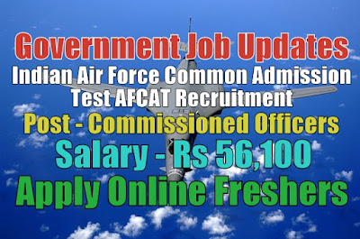 Indian Air Force AFCAT Recruitment 2020