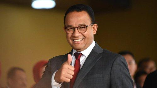Anies  Mengucapkan Selamat Kepada Pimpinan DPRD DKI Jakarta Yang Baru