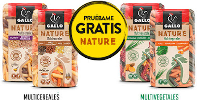 PRUEBA GRATIS PASTAS GALLO NATURE