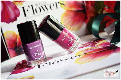 WILD FLOWERS collection Tns Cosmetics