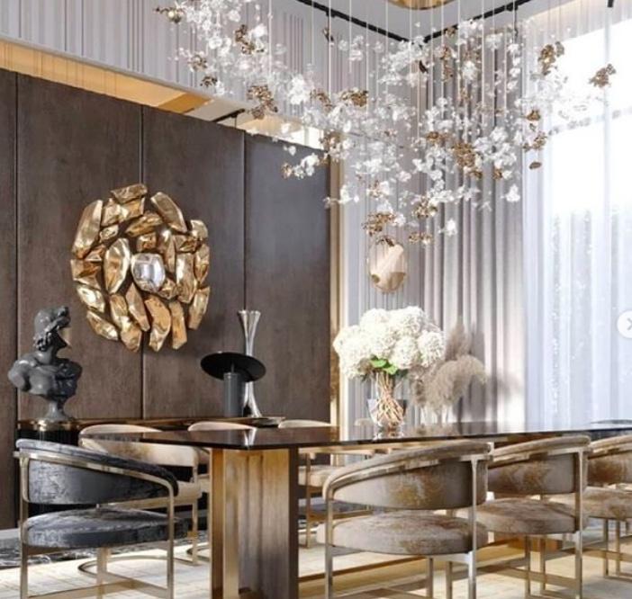 10 Glamorous Rooms