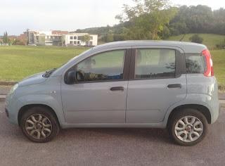 Fiat Panda a metano - Consumi