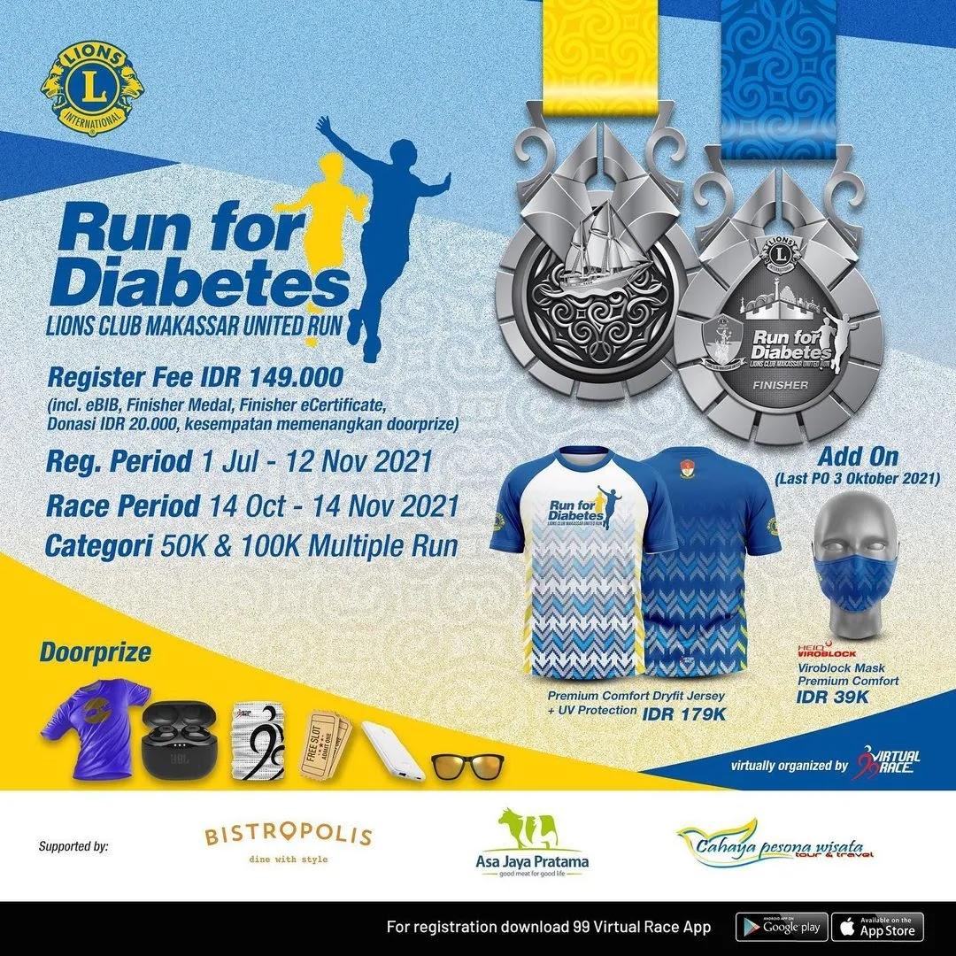 Run for Diabetes • 2021