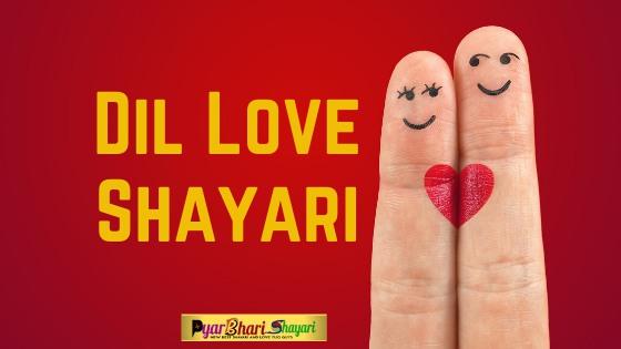 Dil Love Shayari, New Dil Shayari, Best Dil Shayari in Hindi, Best Shayari On Heart