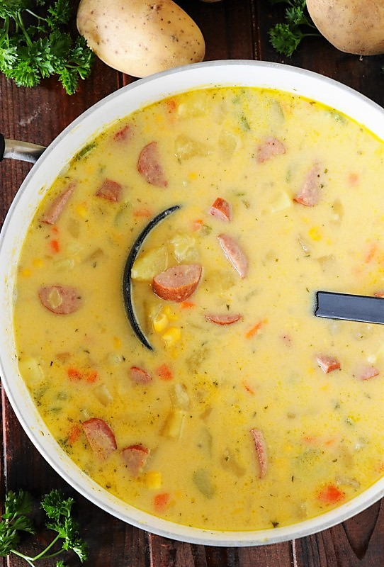 Kielbasa Potato Soup Kitchen Is My Playground