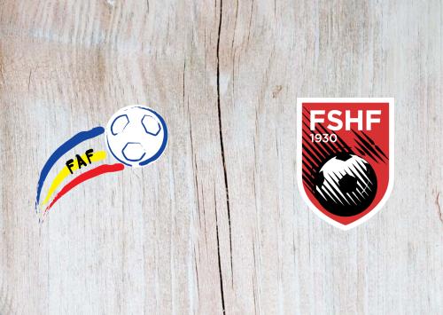 Andorra vs Albania -Highlights 25 March 2021