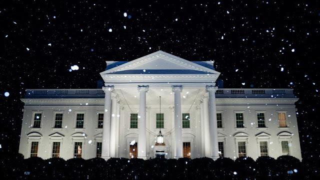 """La Casa Blanca celebra en las redes """"la primera nevada del año"""" en Washington y deja boquiabiertos a los internautas (porque no había nieve)"""