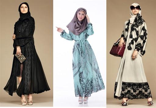 15 Model Dress Muslimah Terbaru Saat Ini
