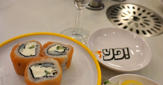 Yo! Sushi Chester: New Menu Launch