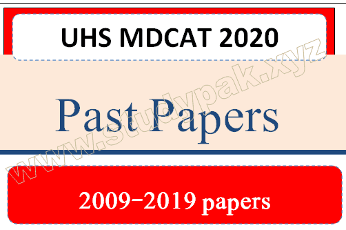 UHS MDCAT Past papers PDF Download 2020