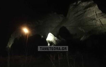Φωτογραφίες απο τον βράχο στα Μετέωρα