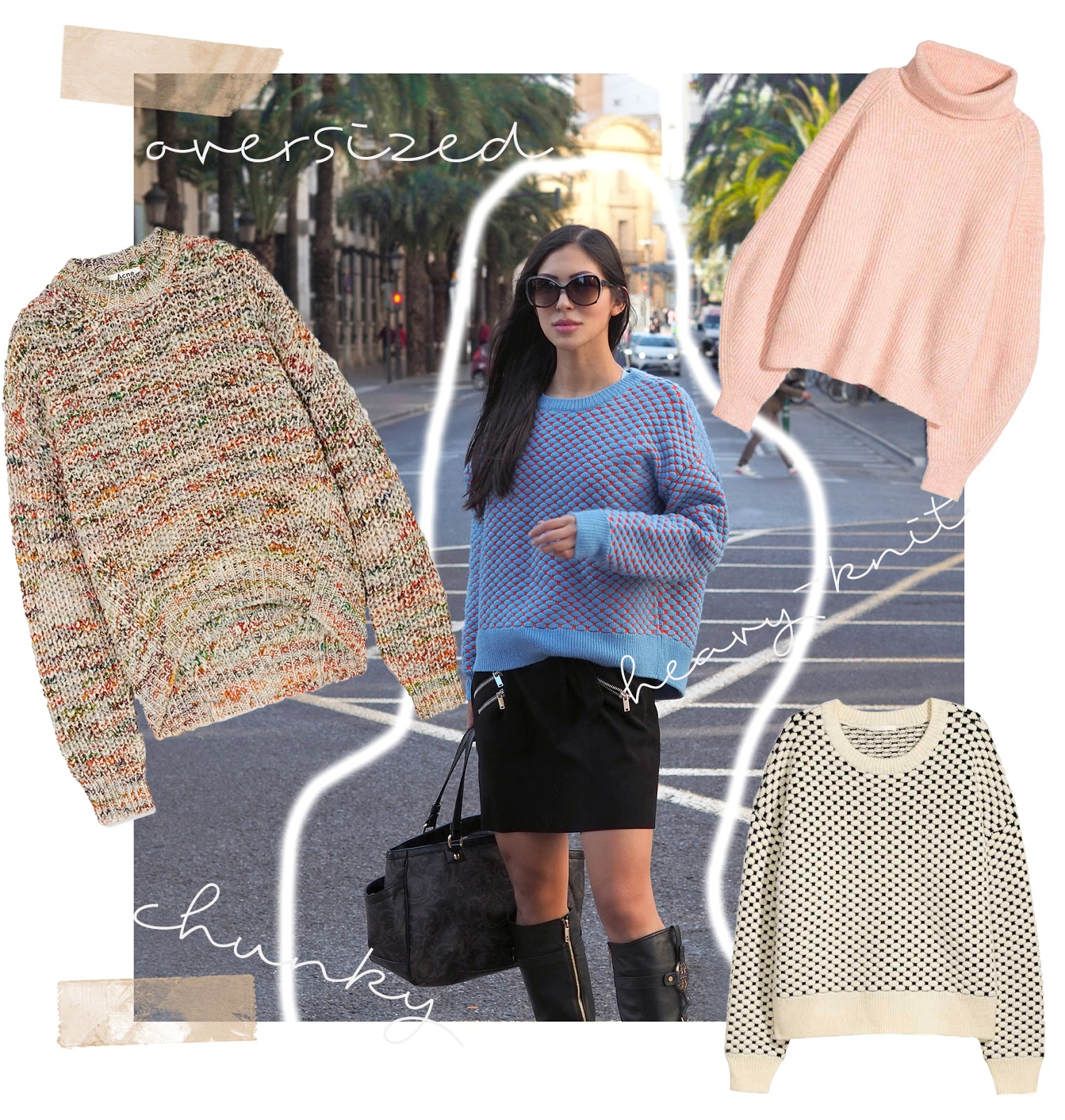 Euriental | luxury travel & style | Chunky knit jumpers, oversized sweaters