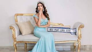 Alicia Cedron es Miss Perú Lima Este 2019