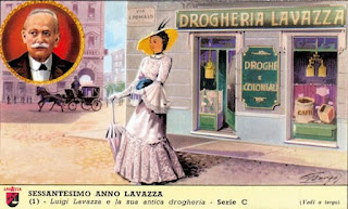 Luigi Lavazza's original Turin grocery shop