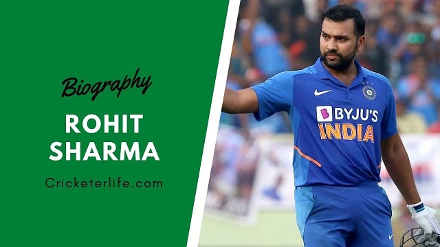 Rohit Sharma biography, age, stats, Records, wife, family, etc.