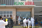 Sesak Nafas, Mayat di Duga Pasien Covid-19 di Depan Klinik Aqma Cikampek Meninggal Dunia