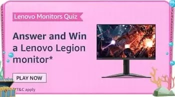 The new Lenovo Legion Y27GQ monitor is powered by which of the following Sync Technology?