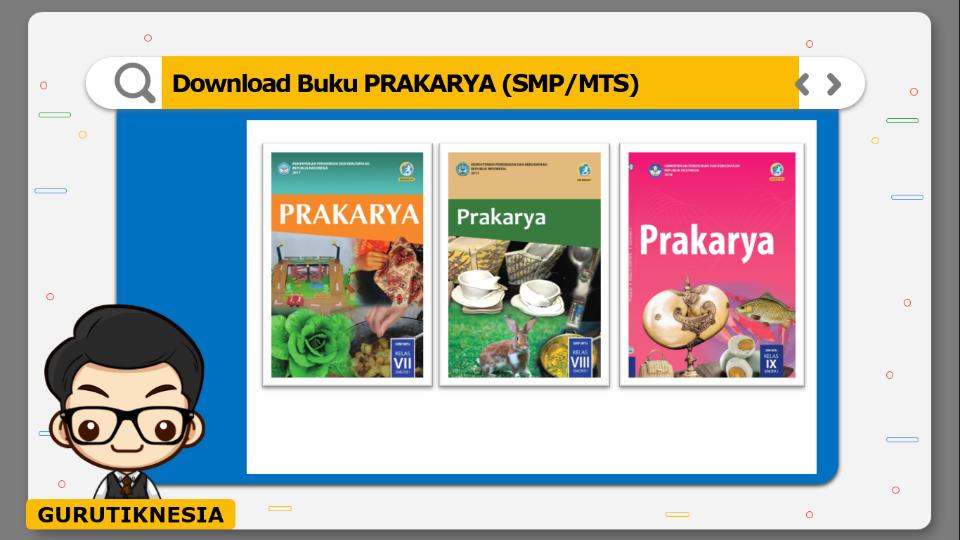 download gratis buku pdf prakarya untuk smp/mts