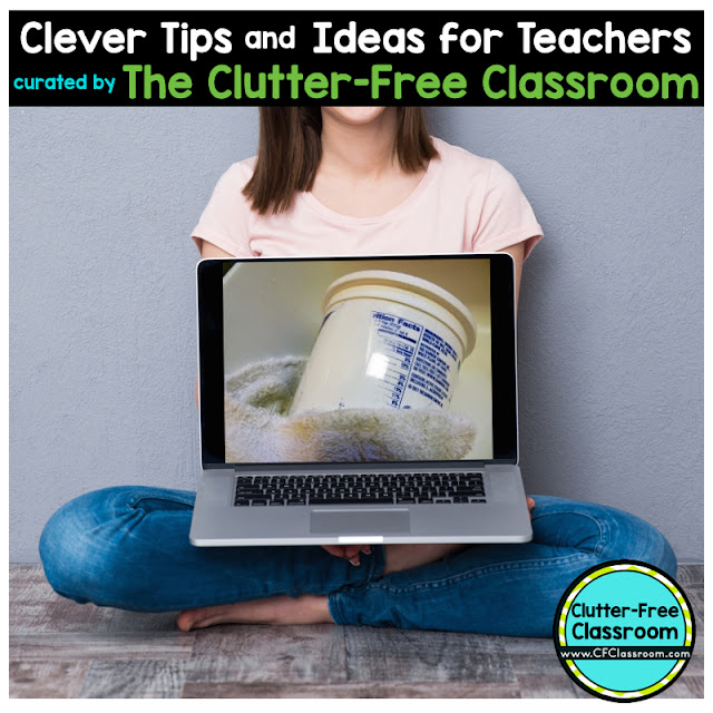 Teachers love storage containers. They help with classroom organization. This teacher tip will show you how to make your own storage containers for free.