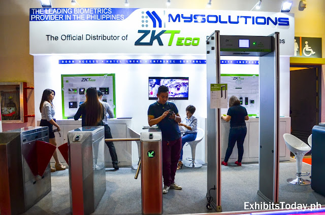 My Solutions ZK Teco exhibit booth