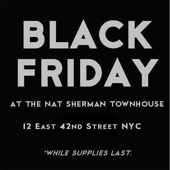 black friday 2016 at nat sherman. Black Bedroom Furniture Sets. Home Design Ideas