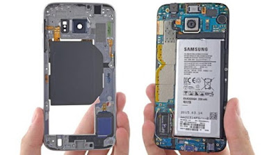 Baterai non removable Samsung Galaxy S6