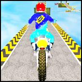 Fast MotorBike Stunt Racing Free Game 2020