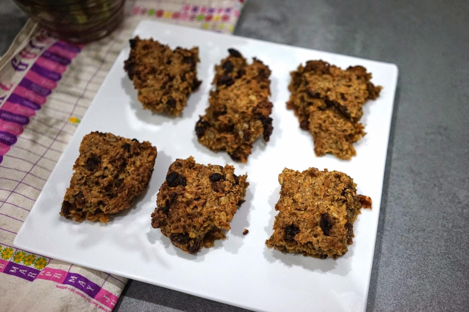 healthy superfood breakfast bars