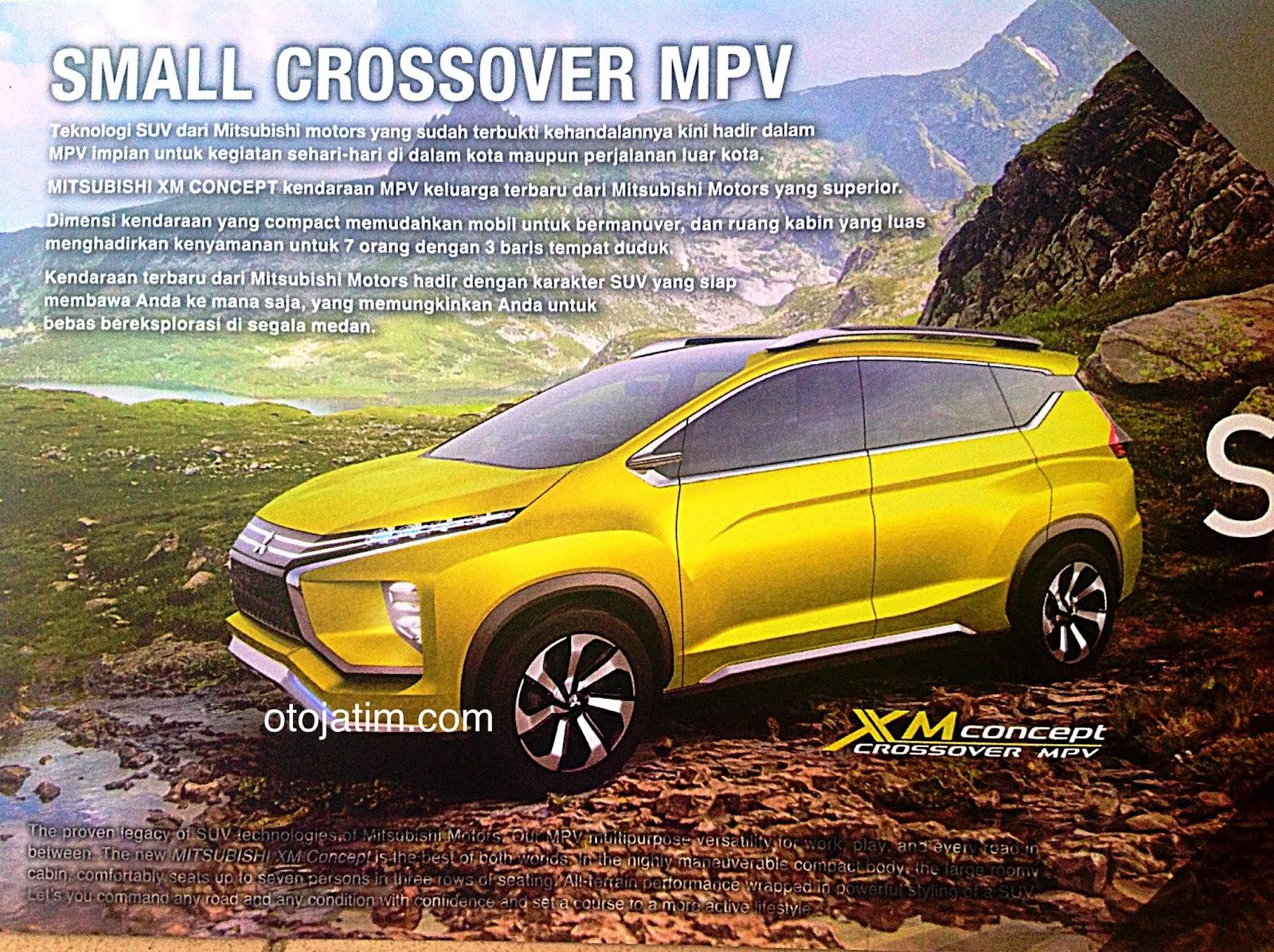 Wah Keren Brosur Mitsubishi XM Concept Sudah Beredar Berita
