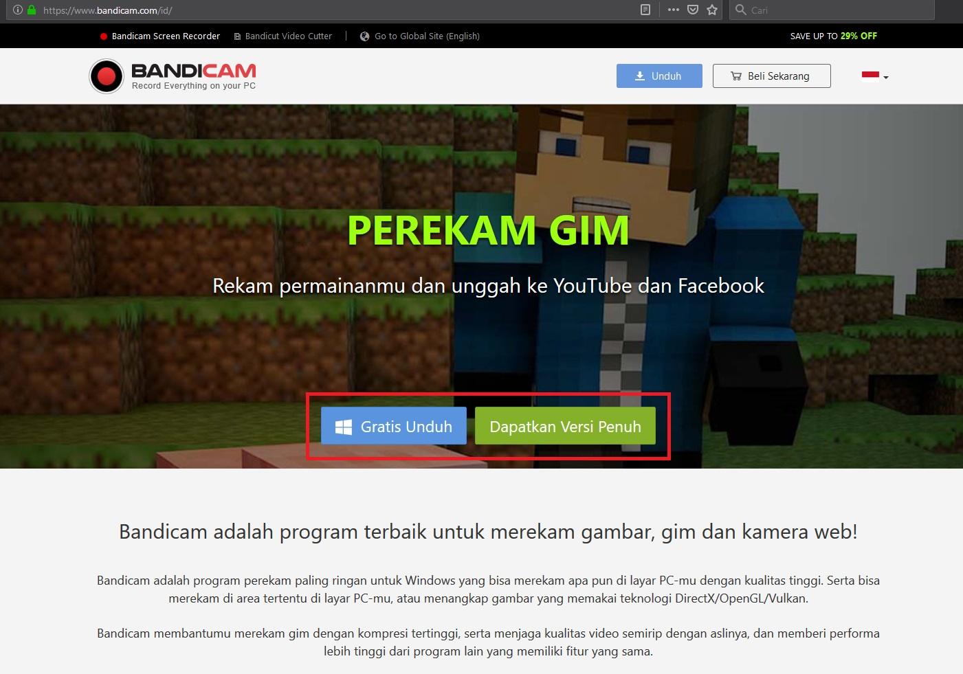 download bandicam tanpa watermark