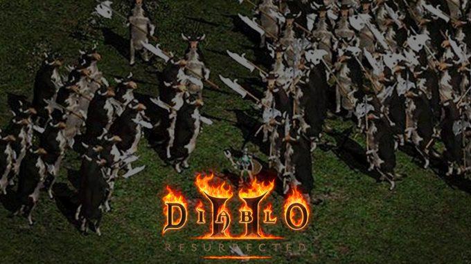 Diablo II: Secret Cow level, how to access it