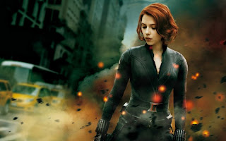 Scarlett Johansson as The Black Widow, Avengers Assemble