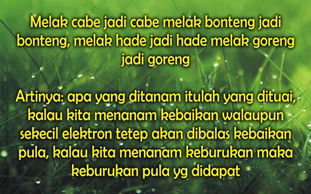 Kata-Kata Mutiara Bijak Untuk Bahasa Sunda