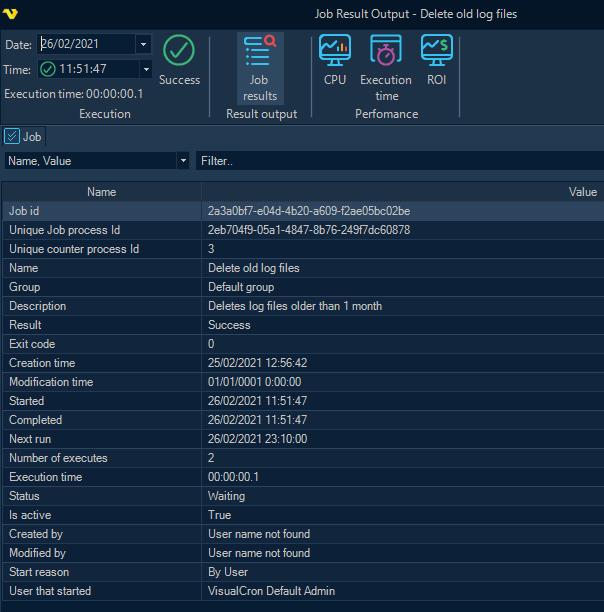 VisualCron: Novedades versión 9.6.0