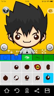 aplikasi untuk membuat karakter anime android