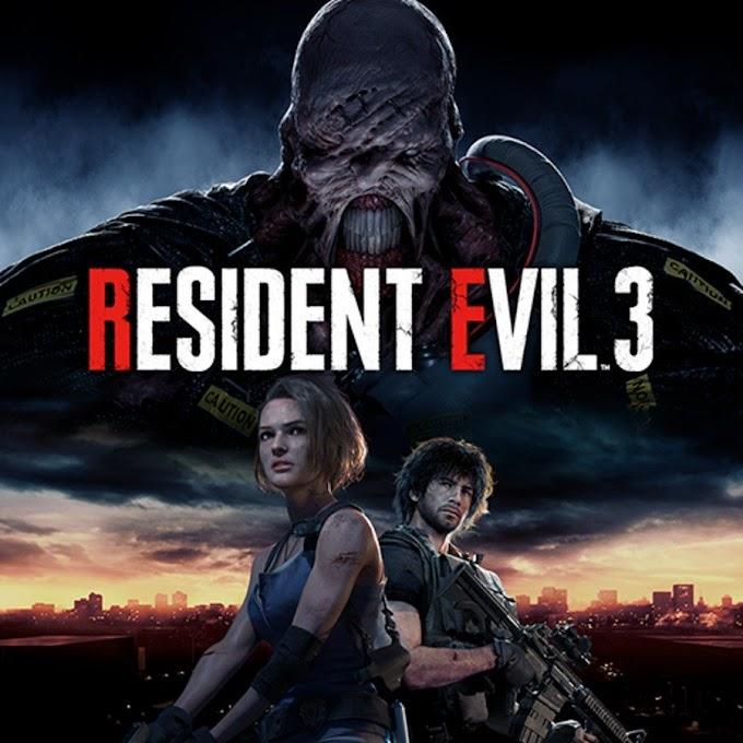 Resident Evil Remake 3 Cover Art Bocor di Playstation Network