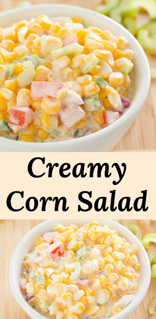 Creamy Sweet Corn Salad