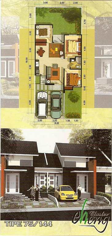 Skema Rumah Minimalis Kumpulan Gambar Rumah