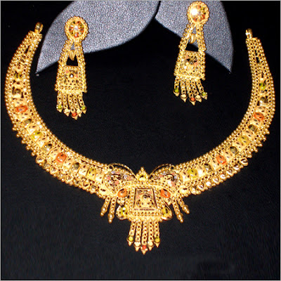 Ladies New Brands New Wedding Gold Jewellery Set Design And Styles
