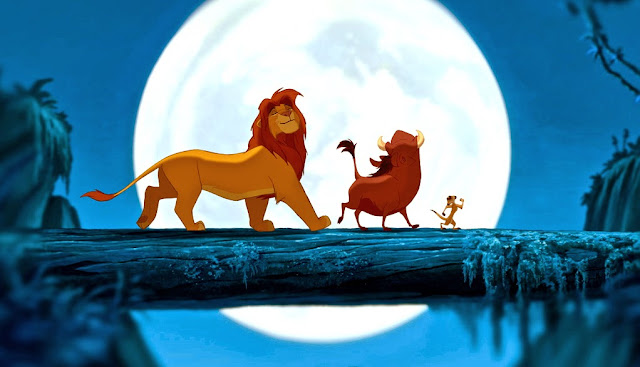 THE LION KING ANIMATION