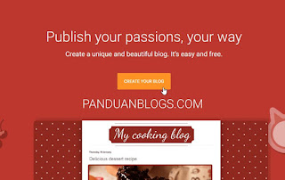 Cara Membuat Blog Gratis di Blogspot/Blogger.com
