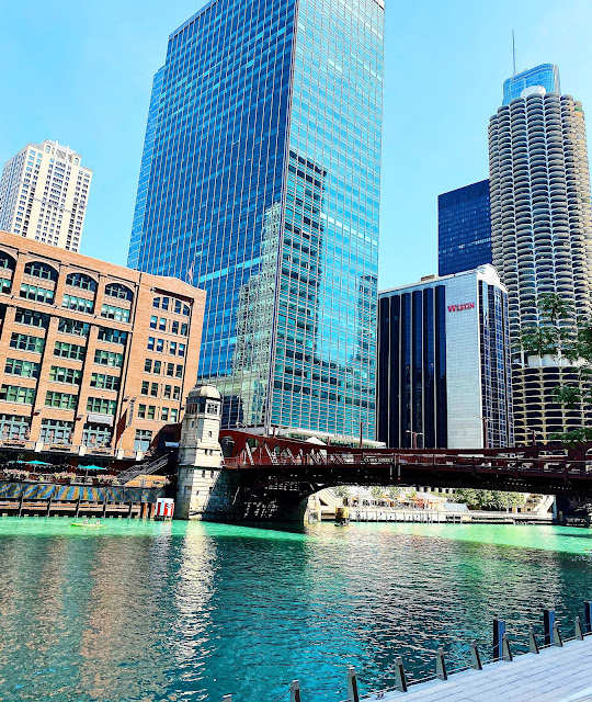 Chicago Riverwalk Summer 2020