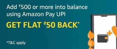 Amazon Pay Loot – Hidden Offer and Free ₹50 Cashback On Add Money