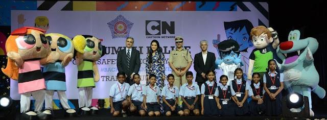 Mumbai-Police-Cartoon-Network-Datta-Padsalgikar-Amruta-Fadnavis-Siddharth-Jain-Kris-NSCI-Turner-Amitesh-Kumar-#BachchePoliceBulayenge-Newztabloid
