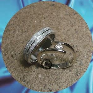 cincin kawin perak p628