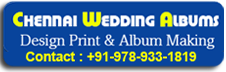 CHENNAI WEDDING ALBUM DESIGNING (Service All Nations)