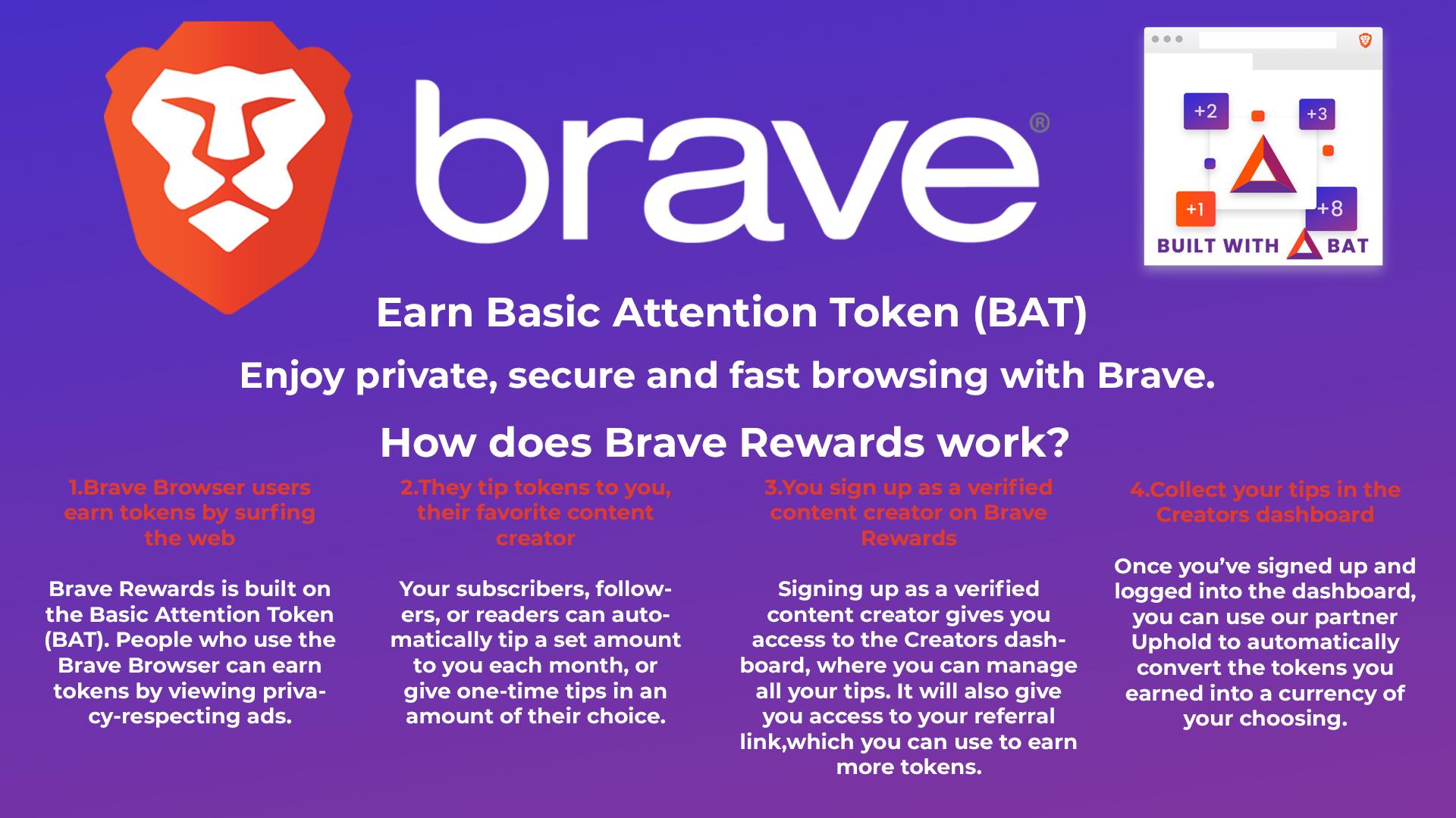 How to earn BAT token