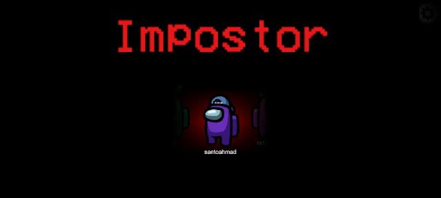 Bermain Impostor Among Us