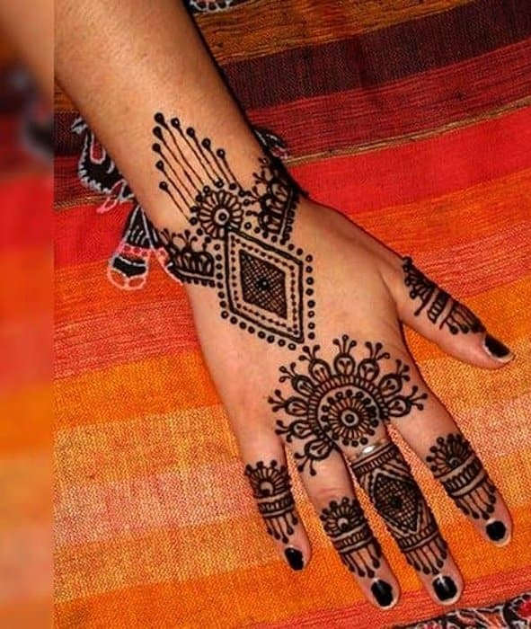 Mehndi Design For  Wedding Day Celebrations