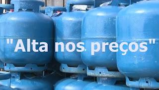 Preço do gás de cozinha terá aumento a partir deste sábado